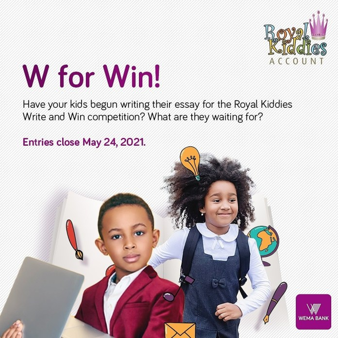 Write & Win: Wema Bank Creative Essay Competition For Kids-Brand Spur Nigeria