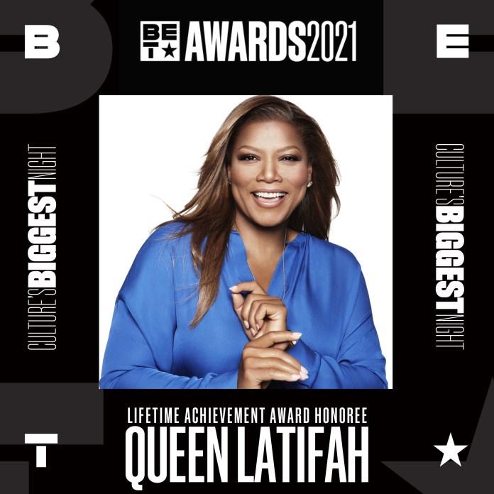 Queen Latifah To Receive LifeTime Award at BET Awards 2021 -Brand Spur Nigeria