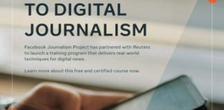 online course for journalists
