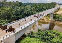 Nigeria-Cameroon 1.5km Border Bridge