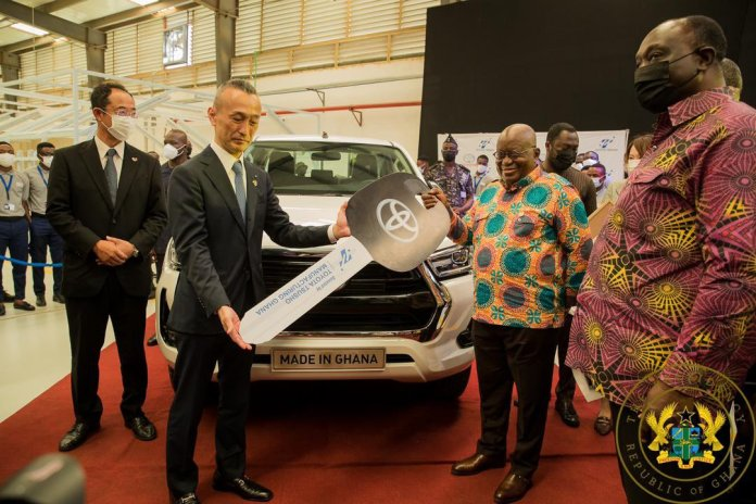 Like Twitter, Toyota Snubs Nigeria, Opens Assembly Plant In Ghana-Brand Spur Nigeria