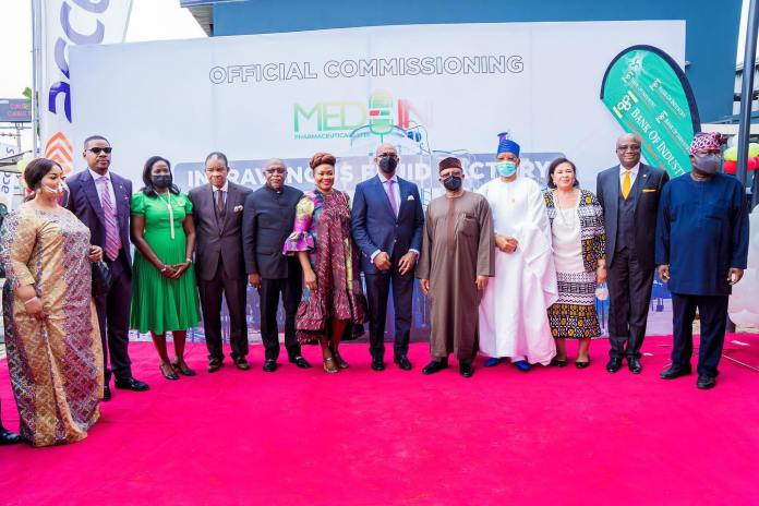 Governor Abiodun Commissions Intravenous Fluid Manufacturing Company-Brand Spur Nigeria