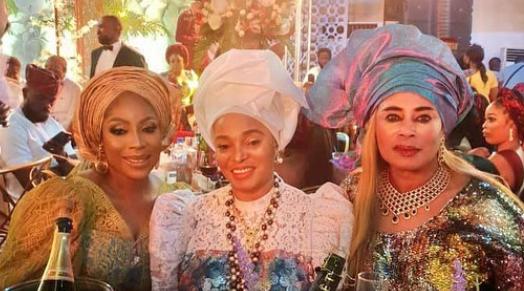 Photo News: Mo Abudu, Omotola Others Grace Adebola William's Wedding-Brand Spur Nigeria