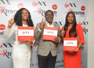 ipNX Launches Nigeria's First 1 Gigabit Per Second Internet Service-Brand Spur Nigeria