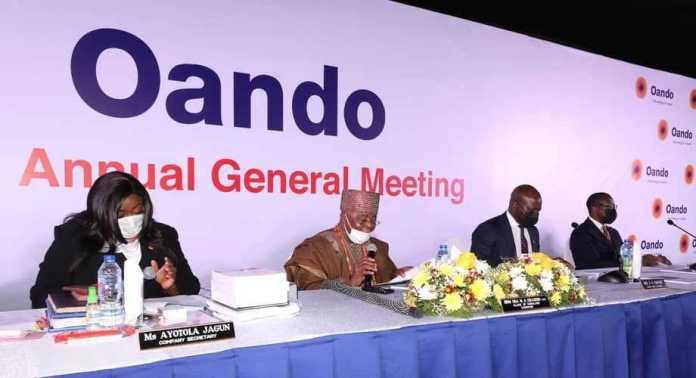 Oando AGM-Shareholders Laud Wale Tinubu Led Management-Brand Spur Nigeria