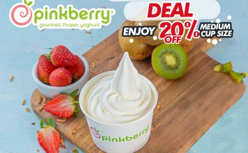 Blueberry Froyo At Pinkberry