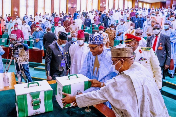 Breakdown Of 2021 Budget Presented By President Buhari