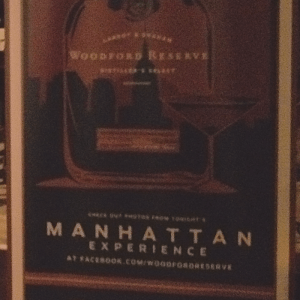 Woodford Reserve's Manhattan Competition - Kentucky Region