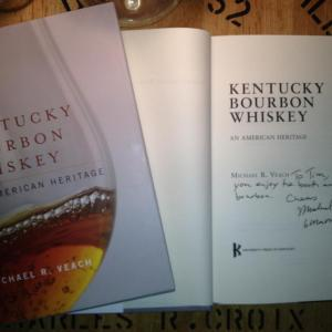 Kentucky Bourbon Whiskey: An American Heritage by Michael R. Veach