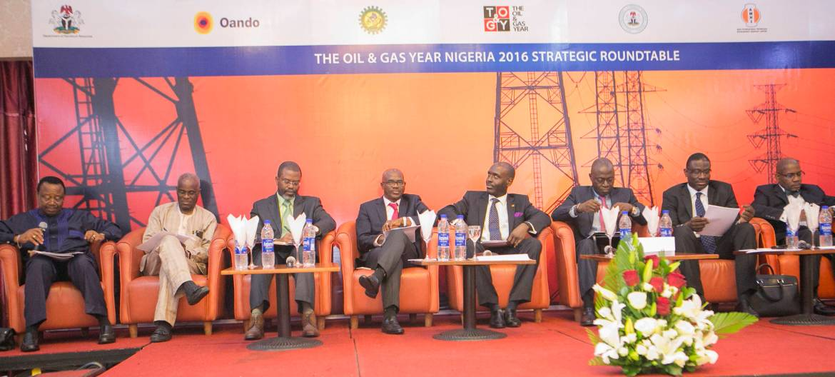 Chief Tunde Afolabi, Chairman of Amni International Petroleum Development Company; Dr. Layi Fatona, CEO of Niger Delta Exploration & Production; Mr. Femi Akarakiri, MD of Weatherford Nigeria; Mr. Adeyemi Adetunji, Group General Manager, Strategy & Execution Gas & Power at NNPC;  Mr. Ayo Ajose-Adeogun, CSO for Oando Plc; Dr. Lazarus Angbazo, CEO of GE Nigeria;  Dr. David Ige, CEO of GasInvest; Mr. Sola Adepetun, Managing Partner of ACAS Law.