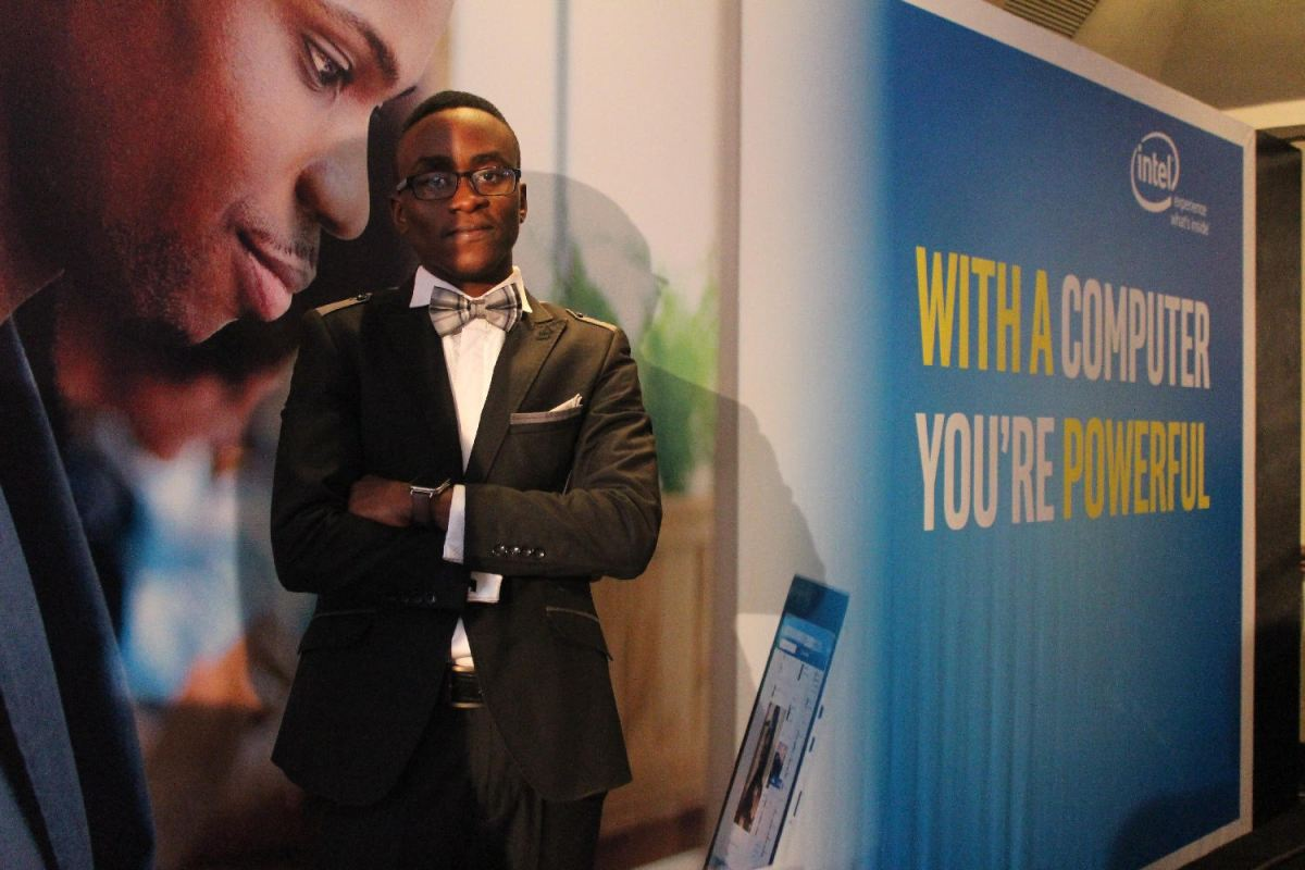"""With A Computer,You're powerful"" Ambassado and Co-Founder/CEO, Slatecube,  Chris Kwekowe"
