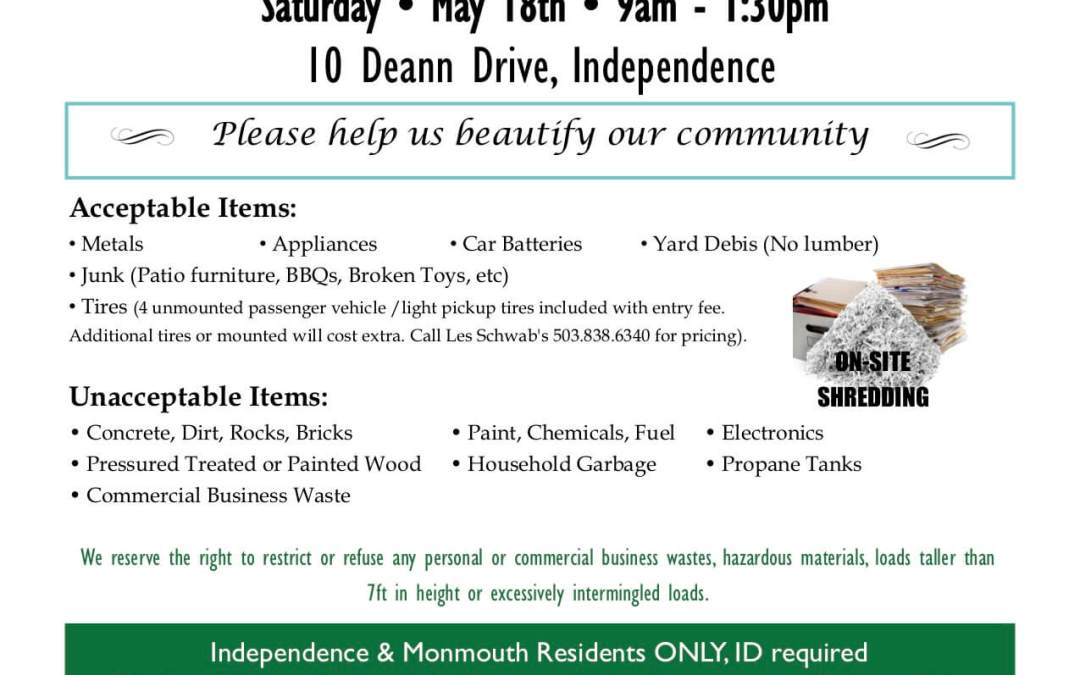Independence – Monmouth Community Clean-Up