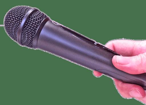 Hand-held microphone