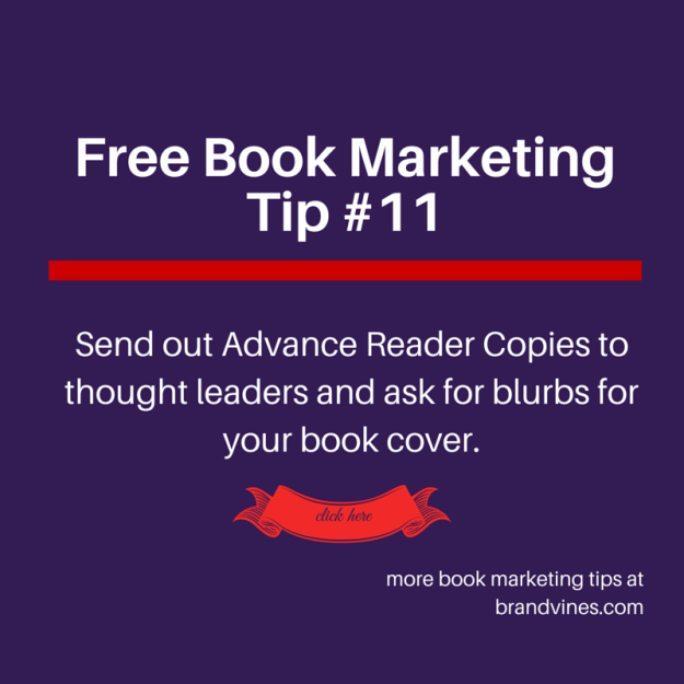 Free Book Marketing Tip #11