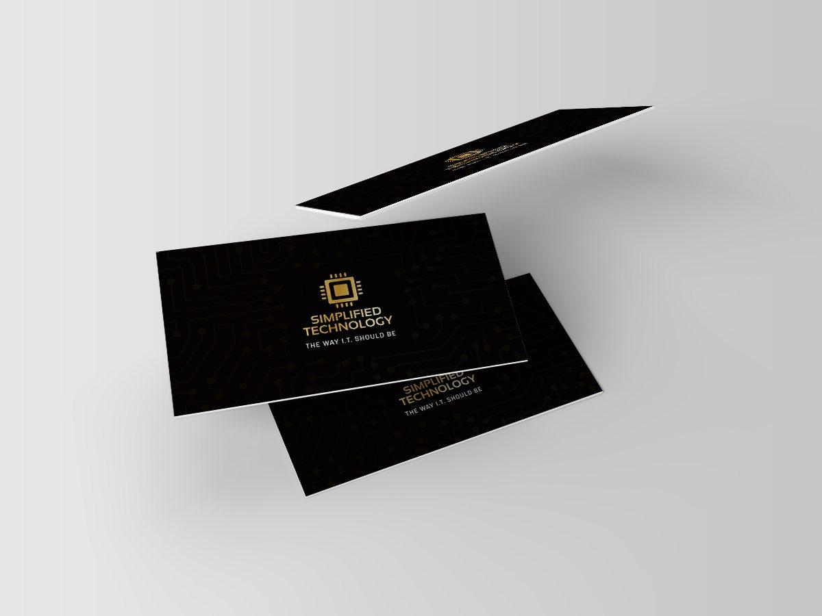 Business Card Mockups front
