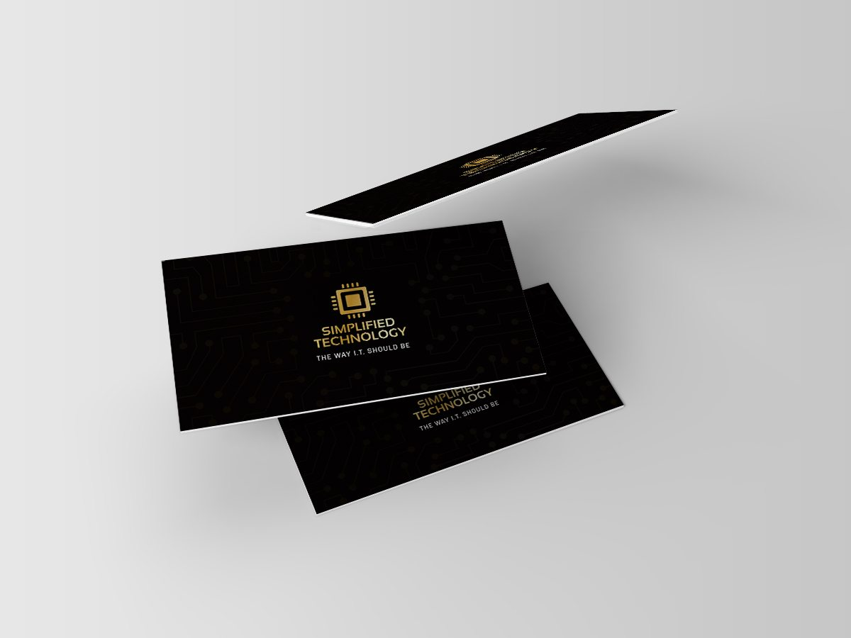 Business Card Mockups front