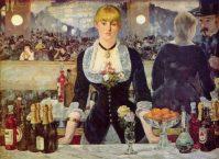Manet - Un bar en Folies-Bergère