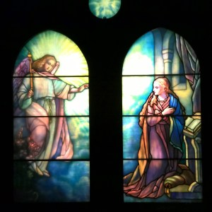 From the Driehaus Gallery of Stained Glass at Navy Pier, Chicago, IL.