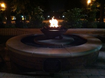 Dr. Martin Luther King's Eternal Flame