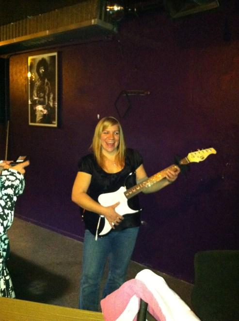 I won this guitar! :)