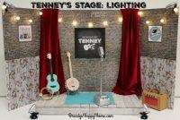 DIY Tenney's Stage: Lighting