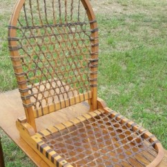 Canoe Chair Suede Office Tubbs Snowshoe Seat
