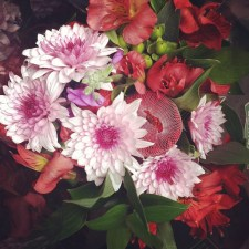 Gorgeous flowers from the Mr.