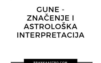 Gune – Značenje i astrološka interpretacija