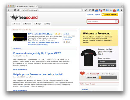 Screenshot_Freesound