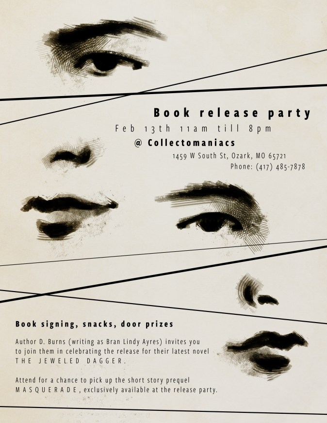 Book Release Party Flyer