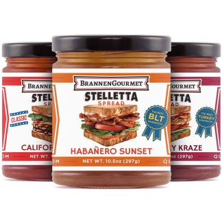 BrannenGourmet Stelletta Spread Three Pack