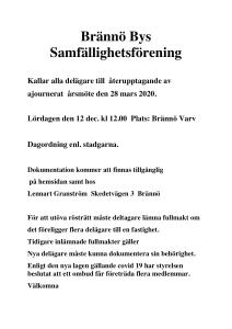 Kallelse årsmöte 2020 (3)Tim Borg Lennart Granström