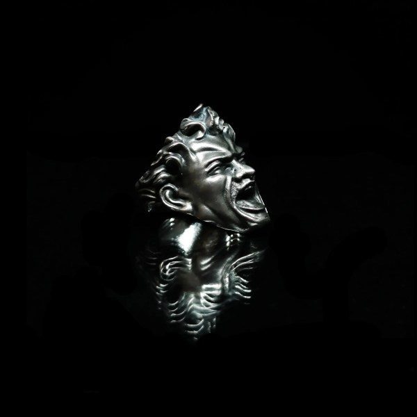 BRANS - handcrafted silver jewelry - Fear of Evolution ring