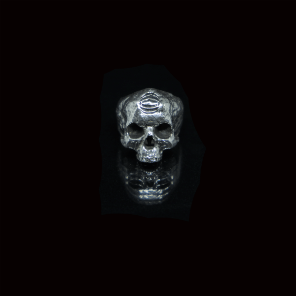 BRANS - handcrafted silver jewelry - Memento Mori ring