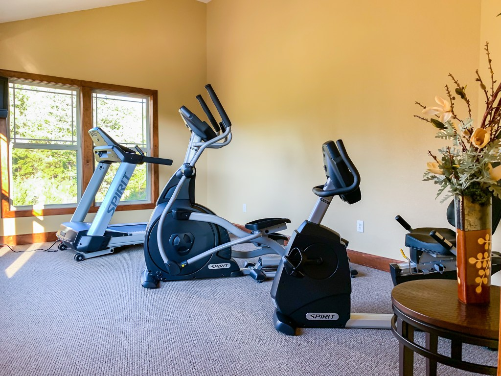 Branson Canyon fitness room