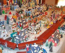 Eureka Springs' Snow Train Village