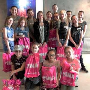 Auditi Tina de Musical met Rieke