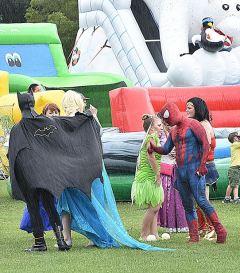 Elsa & Spiderman