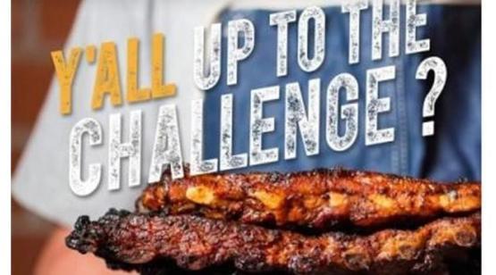Rib Eating Contest image