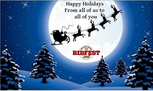 ribfest christmas 2018 card