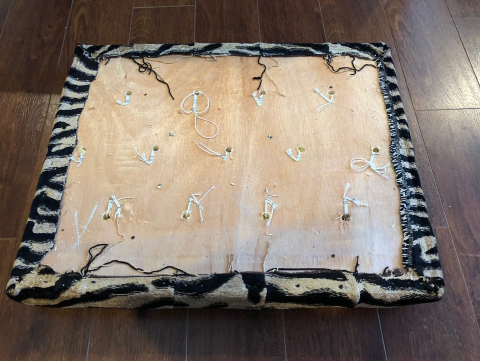 IMG 2958 1024x769 - DIY Tufted Stool Makeover