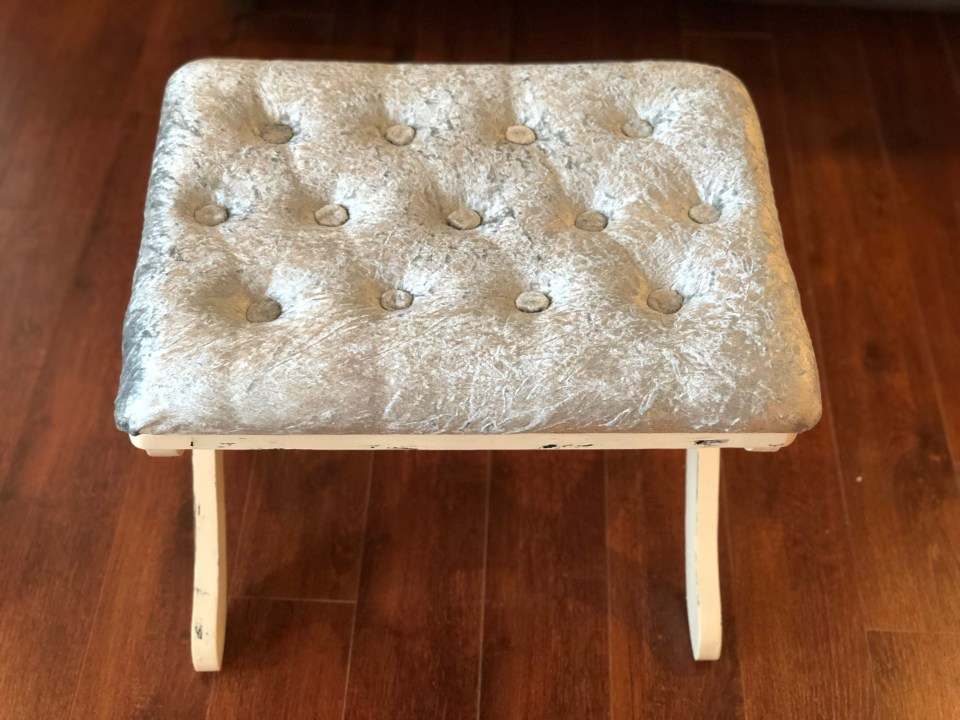 IMG 3020 1024x768 - DIY Tufted Stool Makeover