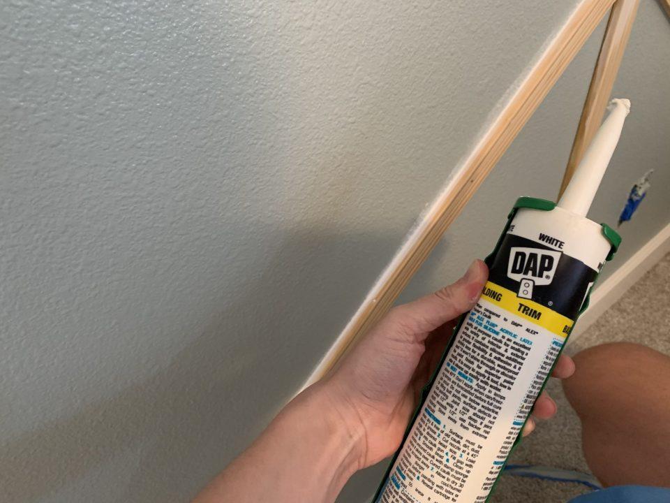 IMG 7825 scaled - DIY Herringbone Wall