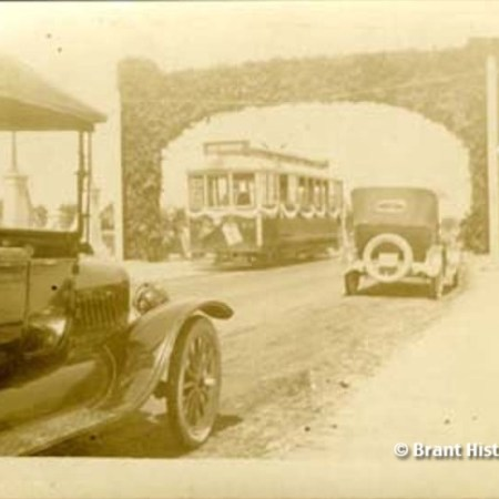 Parade for the Opening Of Lorne Bridge, c. 1924