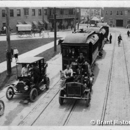 View Down Brant Avenue c. 1910