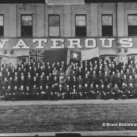 Waterous Engine Works Staff c.1879