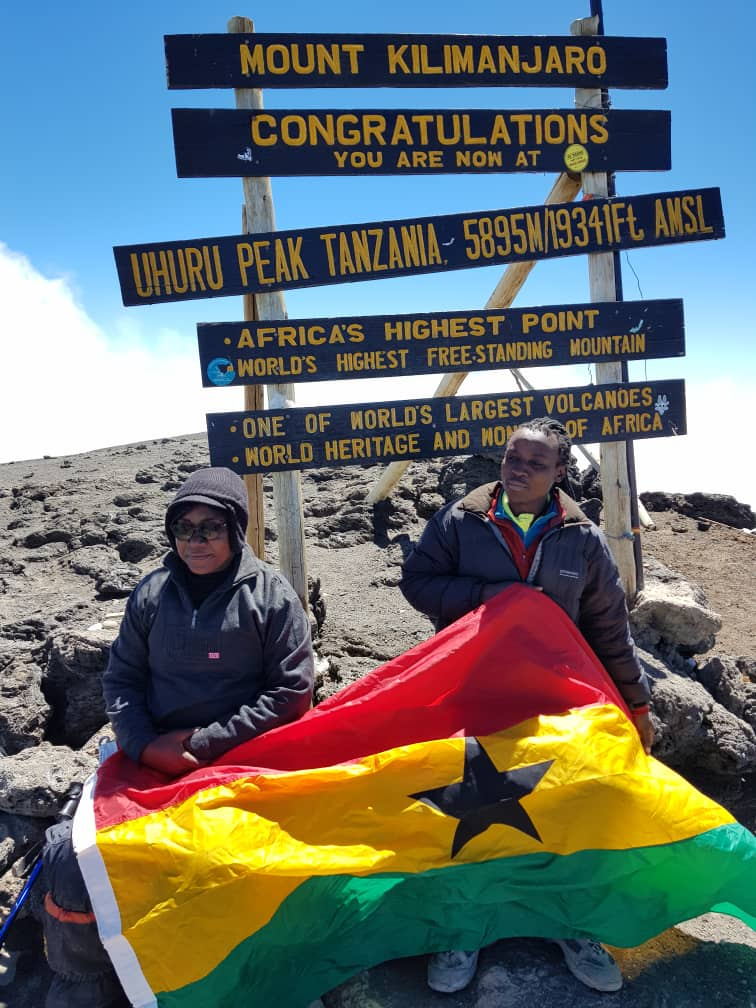 Meet the Ghanaian woman who climbed Kilimanjaro for the safety of African children 2