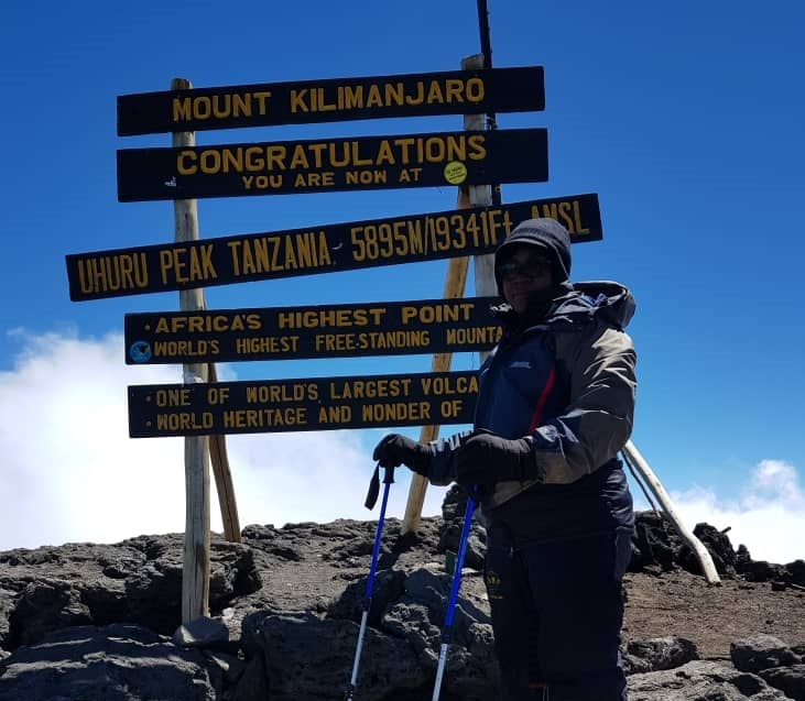 Meet the Ghanaian woman who climbed Kilimanjaro for the safety of African children 1