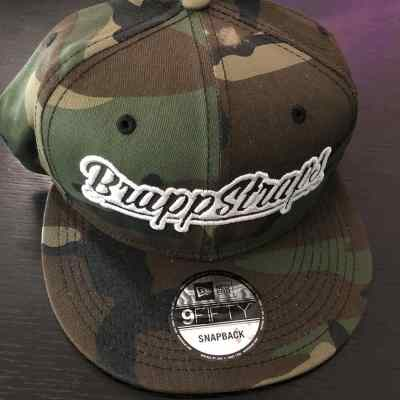 Brapp Straps Camo Snapback