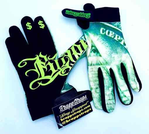 Illuminated MX Glove by Brapp Straps